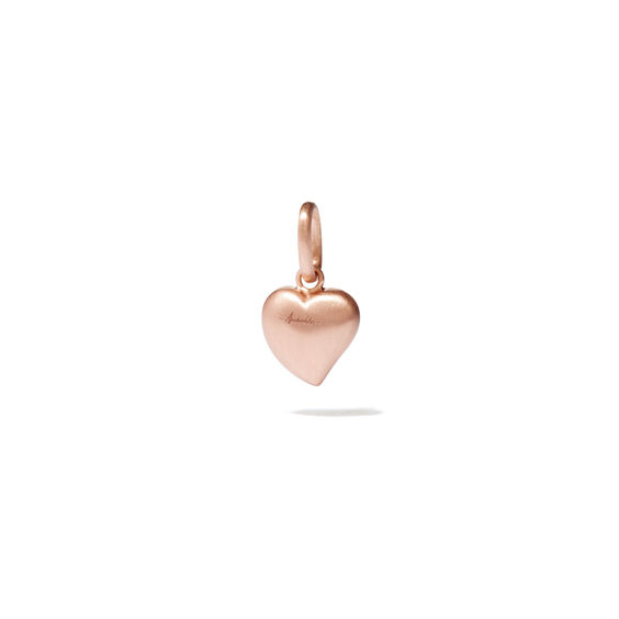 18ct Rose Gold Small Heart Charm
